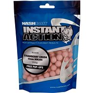 Nash Instant Action Strawberry Crush 12mm 200g - Boilies