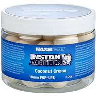 Pop-up boilies Nash Instant Action Coconut Creme 18mm 60g - Pop-up boilies