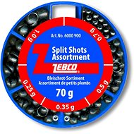 Zebco Split Shot Assortment Fine 70g - Broky