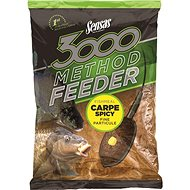 Sensas 3000 Method Feeder Carp Spicy 1kg - Vnadící směs