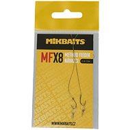 Mikbaits Návazec Method Feeder MFX Velikost 8 10cm 2ks - Návazec