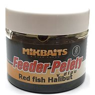 Mikbaits Halibutky v dipu Red fish 8mm 50ml - Pelety