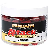 Mikbaits Attack chytací pelety Jahoda 150ml - Pelety