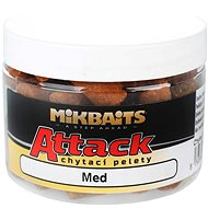 Mikbaits Attack chytací pelety Med 150ml - Pelety