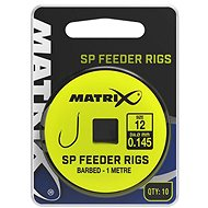 FOX Matrix 1m SP Feeder Rigs 0,145mm Velikost 10 10ks - Návazec