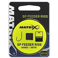 FOX Matrix 1m SP Feeder Rigs 0,145mm Velikost 12 10ks - Návazec