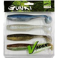 Gunki PEPS Clear Water Kit 1 12cm 4ks - Gumová nástraha