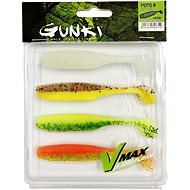 Gunki PEPS Dark Water Kit 2 9cm 4ks - Gumová nástraha