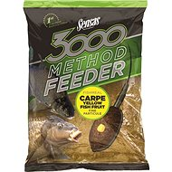 Sensas 3000 Method Feeder Carpe Yellow 1kg - Vnadící směs