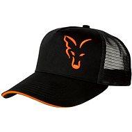 FOX Black   Orange Trucker Cap - Kšiltovka e4a764a9ed