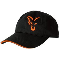 FOX Black & Orange Baseball Cap - Kšiltovka