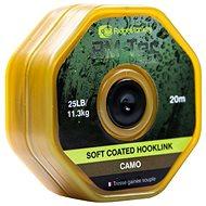 RidgeMonkey RM-Tec Soft Coated Hooklink 35lb 20m Camo - Šňůra