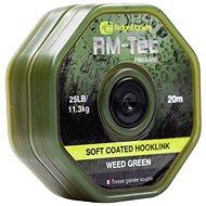RidgeMonkey RM-Tec Soft Coated Hooklink 35lb 20m Zelená - Šňůra