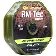 RidgeMonkey RM-Tec Stiff Coated Hooklink 35lb 20m Zelená - Šňůra