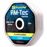 RidgeMonkey RM-Tec Fluorocarbon 0,47mm 20lb 20m Čirý - Fluorocarbon