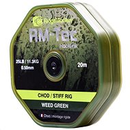 RidgeMonkey RM-Tec Chod Stiff Rig 0,50mm 25lb 20m Zelená - Fluorocarbon