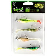 FOX Rage Fish Snax Mini Fry Loaded 7cm 5g Velikost 1/0 Mixed Colours 4ks