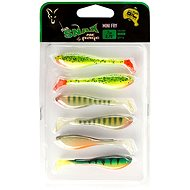 FOX Rage Fish Snax Mini Fry 7cm Mixed Colours 6ks - Gumová nástraha