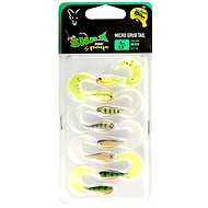 FOX Rage Fish Snax Micro Grub Tail 4cm Mixed Colours 8ks