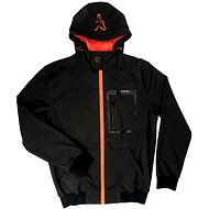 FOX Softshell Hoodie Black/Orange - Bunda
