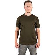 FOX Brushed Cotton T-Shirt Black/Orange - Tričko