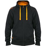 FOX Lightweight Zipped Hoodie Black/Orange - Mikina