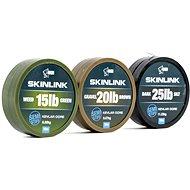 Nash SkinLink Semi-Stiff 35lb 10m Weed Green - Šňůra