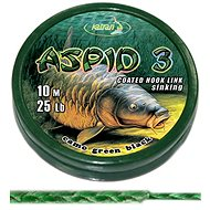 Katran Coated Braided Hook Link Aspid 3 15lb 6,8kg 10m - Šňůra