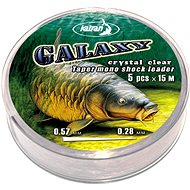 Katran Taper Mono Shock Leader Galaxy 0,33-0,57mm 5x15m Crystal Clear