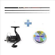 Saenger Plavačkový set SensiTec Match 3,9m 3-15g + vlasec ZDARMA - Rybářská sada