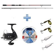 Saenger Přívlačový set SensiTec Trout 2,1m 8-28g + vlasec a třpytky ZDARMA - Rybářská sada