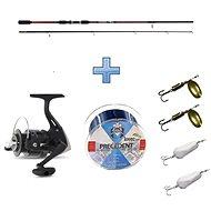 Saenger Přívlačový set SensiTec Medium Light Spin 2,4m 12-45g + vlasec a třpytky ZDARMA - Rybářská sada