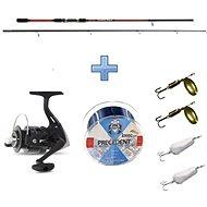 Saenger Přívlačový set SensiTec Medium Light Spin 2,7m 12-45g + vlasec a třpytky ZDARMA - Rybářská sada