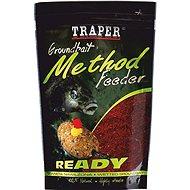Traper Method Feeder Ready Halibut červený 750g - Vnadící směs