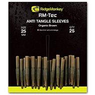 RidgeMonkey RM-Tec Anti Tangle Sleeves 25mm Hnědý 25ks - Převlek