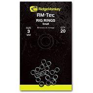 RidgeMonkey RM-Tec Rig Rings Small 3mm 20ks - Kroužek