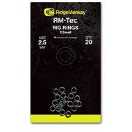 RidgeMonkey RM-Tec Rig Rings X-Small 2,5mm 20ks - Kroužek