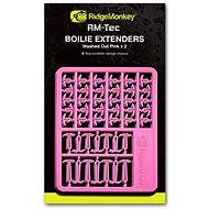 RidgeMonkey RM-Tec Boilie Hair Extenders Růžová 60+14+14ks - Zarážka
