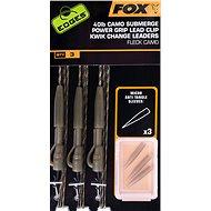 FOX Camo Submerge Power Grip Lead Clip Kwik Change Kit 40lb 3ks