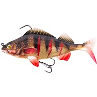 FOX Rage Replicant Realistic Perch 14cm 55g Super Natural Wounded Perch - Gumová nástraha