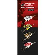 Effzett Perch Spinner Assortment 4g Size 2 4pcs - Spinner
