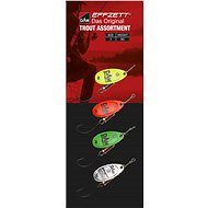 Effzett Trout Spinner Assortment 6g Size 3, 4pcs - Spinner
