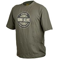 Prologic Bank Bound Badge Tee Green Size L - T-Shirt
