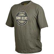 Prologic Bank Bound Badge Tee Green Velikost XXL - Tričko