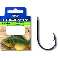 Zebco Trophy Carp Hook-to-Nylon Velikost 4 0,30mm 70cm 10ks