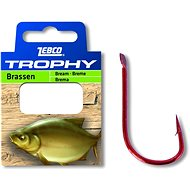 Zebco Trophy Bream Hook-to-Nylon Velikost 12 0,13mm 70cm 10ks - Návazec
