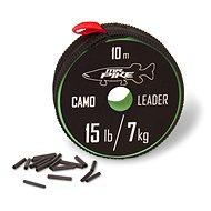 Quantum Mr. Pike Camo Coated Leader Material 7kg/15lbs 10m - Lanko
