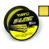 Black Cat S-Line, 0.45mm, 50kg/110lbs, 180m, Yellow - Line