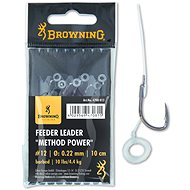Browning Feeder Leader Method Power Pellet Band Velikost 12 0,22mm 10lbs/4,5kg 10cm 6ks