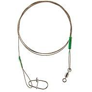 Cormoran 7x7 Wire Leader - Swivel and Corlock Snap Hook 13kg 30cm 2ks - Lanko